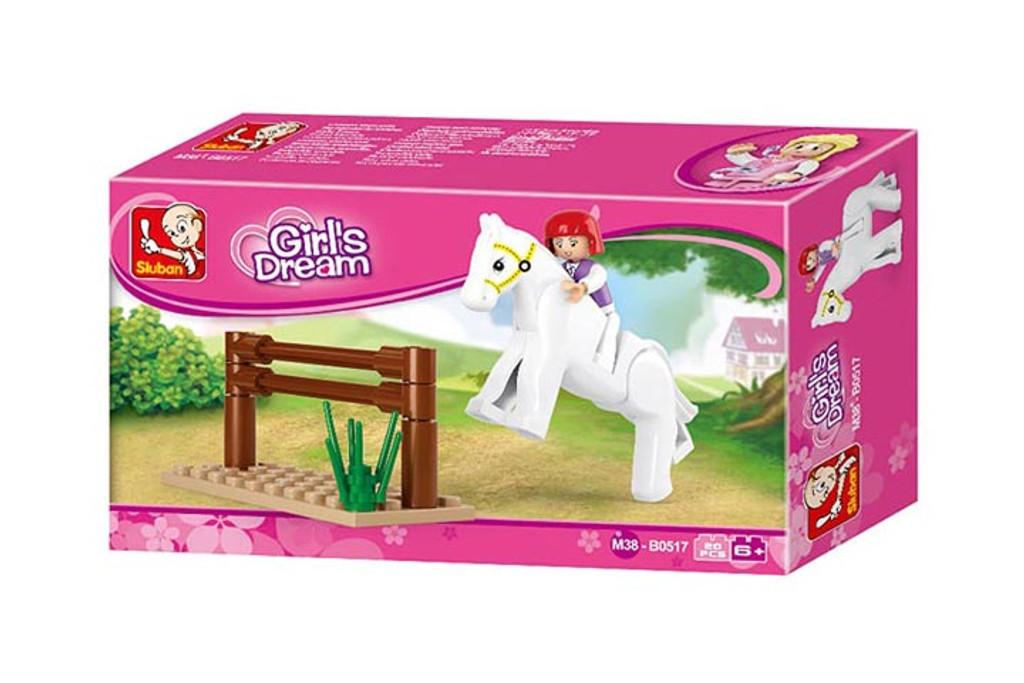 Sluban Building Blocks - Girls Equestrian Dream (20 Piece)