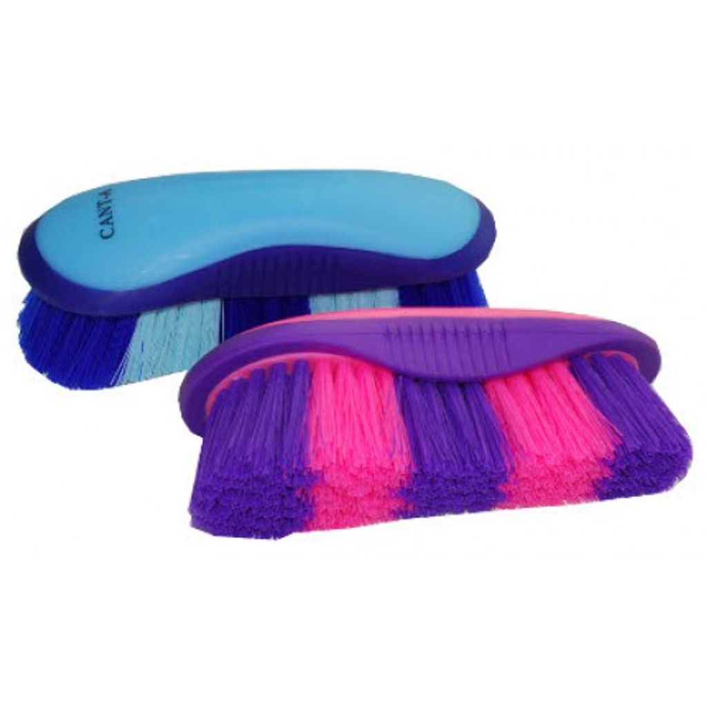 Cant-a Gripping Dandy Brush (Blue/Pink)