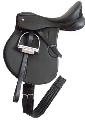 Status Synthetic General Purpose Saddle Deluxe Kit (Mounted)