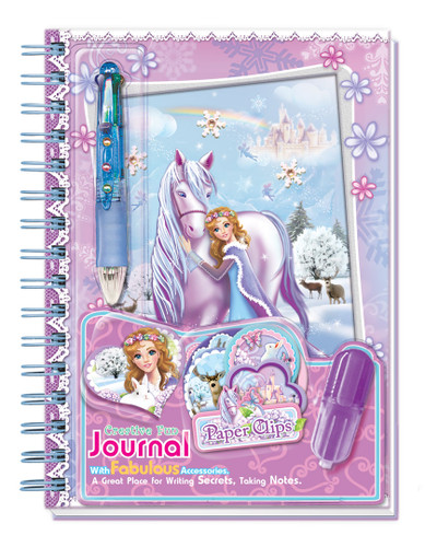 Snowflake Princess Diary/Notebook Set