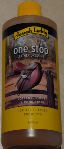 One stop leather dressing, 500ml