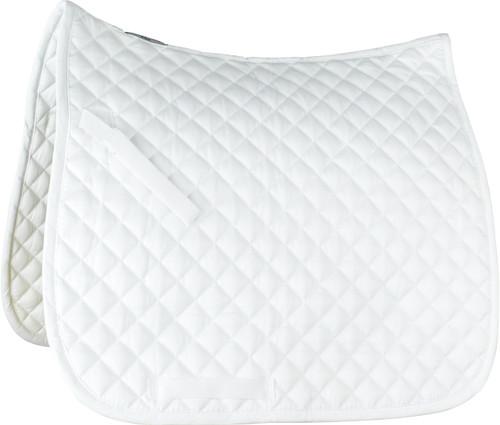 Horze Prinze Dressage Saddle Pad (White)