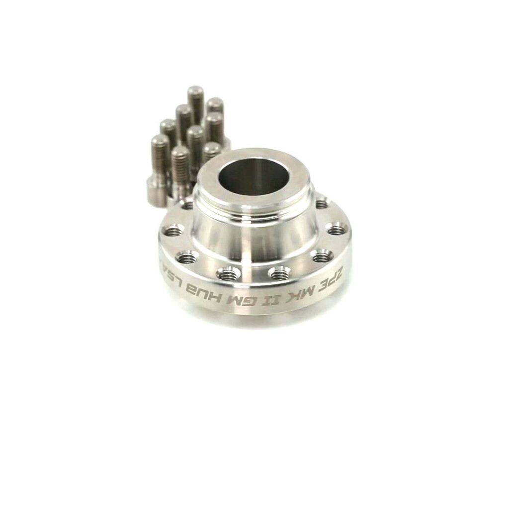 MKII GM Hub by ZPE Inc.  Fits LSA, LS9, and LT4 factory superchargers.  For use with ZPE MKII GripTec® micro L2V Pulleys.