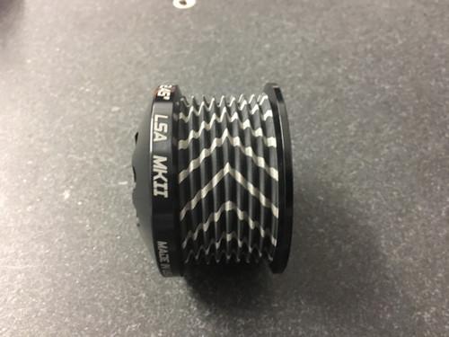 """ZPE MKII LSA Pulley & HUB Ø 2.38"""" Black GripTec®  V2"""