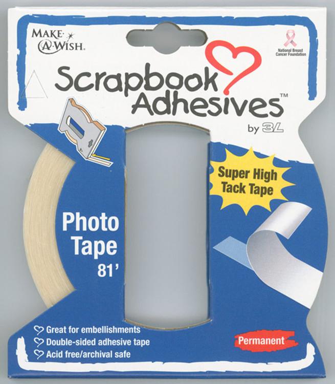Acid-Free Photo Tape - Large Box Dispenser 81ft