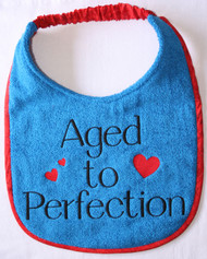 Aged To Perfection Dog Drool Bib