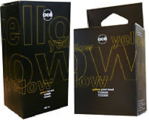 OCE 400ml YELLOW Ink Cartidge & Printhead Combo Pack for TCS300/500