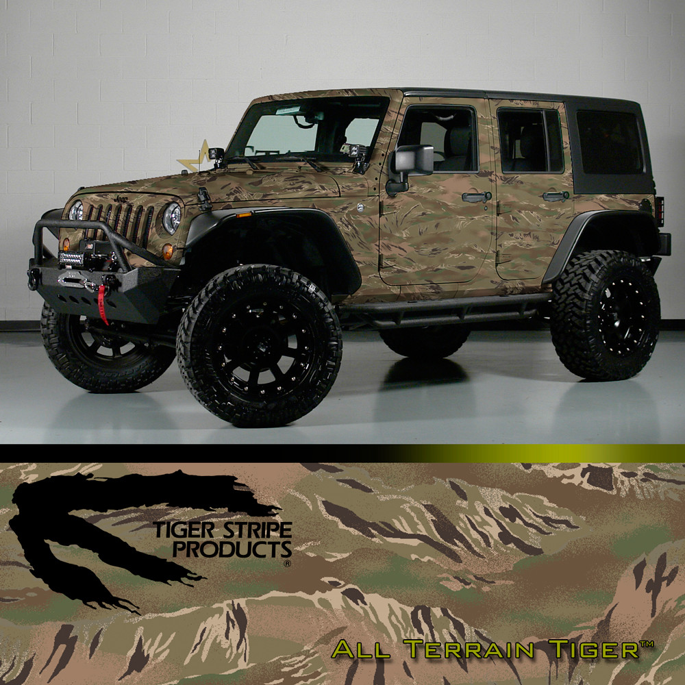 Tiger Stripe Products Digital Military Camo Vehicle Vinyl
