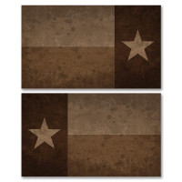 Texas Tan Flag