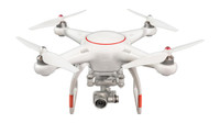 X-Star Premium Drone w/4K Camera, 1.2-mile HD Live View & Hard Case (White)