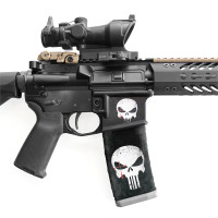 AR-15 Right Side Mag Well Slaps™ Chris Kyle Punisher Series