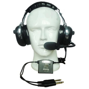 CRAZEDpilot CP-1ANR ACTIVE noise reduction headset for aircraft