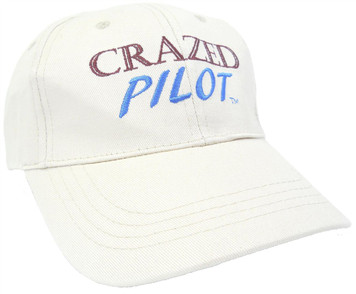 CRAZEDPilot Hat - show them just how CRAZED of a Pilot you are!