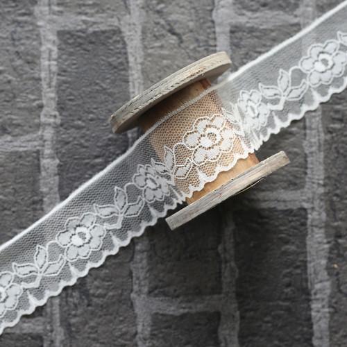 Antique Lace - Ivory (1m by 4.5cm)