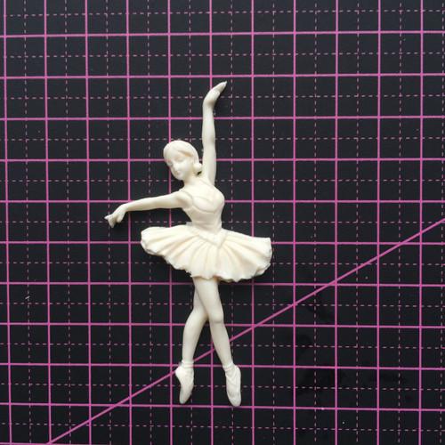 Ballerina 1 - Resin Embellishment