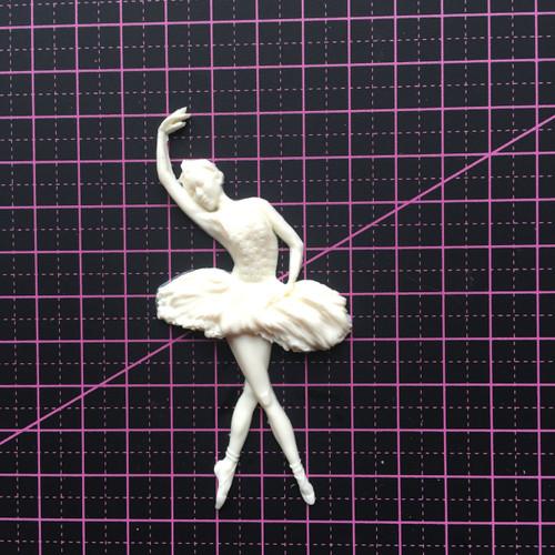 Ballerina 3 - Resin Embellishment
