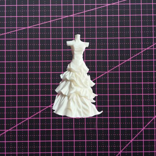 Dress on a Mannequin - Resin Embellishment