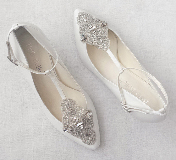 Annalise Art Deco Wedding Shoes Inspired By The Glamour Of Great Gatsby Era Hand