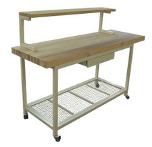 industrial steel furniture. Mobile Cutting Board Station/Kitchen Island Industrial Steel Furniture