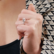 Stairway To Heaven Solitaire Ring (RR223)