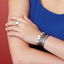 Modern Pursuit Triple Wrap Bracelet