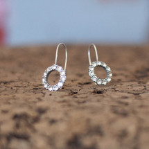 Infinity Drop Earrings (E3173)