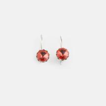 Tangerine Floral Drop Earrings (E2999)