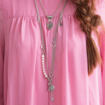 Vintage Rose Necklace (N1802)