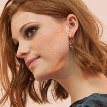 Tiger Lily Blush Earrings (E3201)