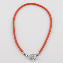 Tahiti Sewn Leather Necklace (N1641)
