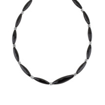 Little Black Number Necklace (N1879)