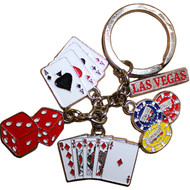 LV Aces & Cards Dangle Keychain