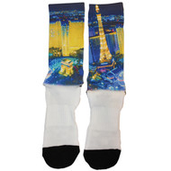 "Legends Socks ""Las Vegas"" NIGHT TOWER"