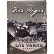 Small Las Vegas Photo Album Black&White Design