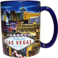 "LV Souvenir Mug ""Embossed Design"" -Strip 16oz."