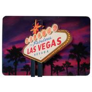 3D Wood Magnet- Las Vegas @ Dusk