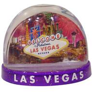 Fireworks Snowdome Las Vegas Souvenir- Large