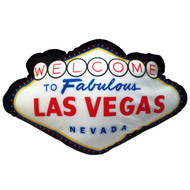 Las Vegas Sign Pillow- Fun Souvenir