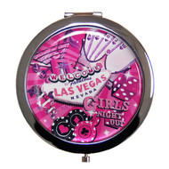 Las Vegas Compact Mirror Girl's Night Out