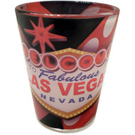 """Dice"" Las Vegas Shot Glass"