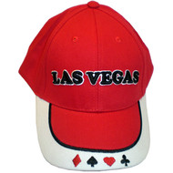 Las Vegas Souvenir Cap in Red