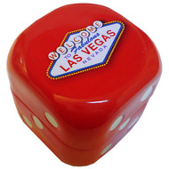 Large Red Dice Las Vegas Tin Mints