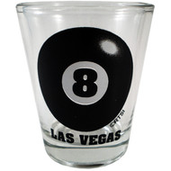 Eight Ball Las Vegas Shotglass