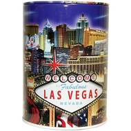 Tin Las Vegas Souvenir Savings Bank- LV Strip