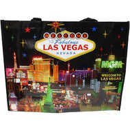 LV Skyline at Night Totebag Las Vegas Souvenir