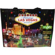 LV Skyline at Night Totebag Las Vegas Souvenir