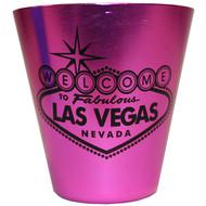 Las Vegas Stainless Steel Shotglass-PINK