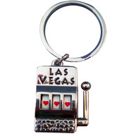 Spin It-Slot Machine Las Vegas Keychain