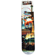 CHILD Souvenir Las Vegas Socks- White Skyline