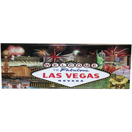 Las Vegas Magnet with View of the Popular Icons